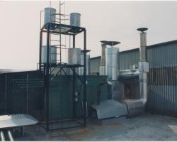 Aislamiento chimeneas cogeneración