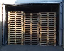 Horno tratamiento madera